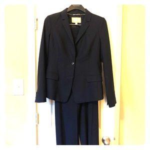 Banana Republic Navy Suit: Blazer & Pants